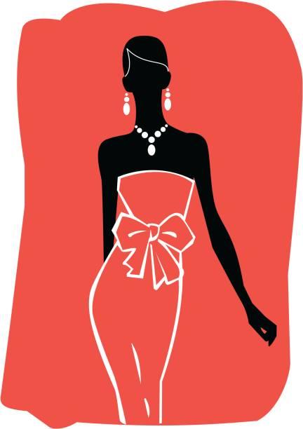 frau silhouette - couture stock-grafiken, -clipart, -cartoons und -symbole
