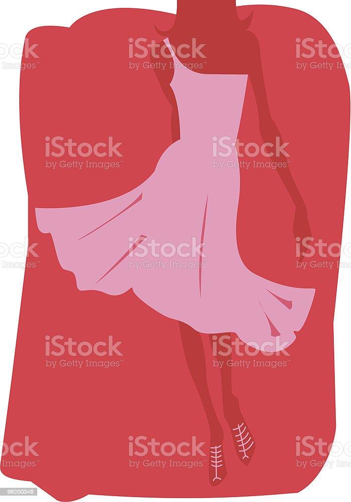 여자 실루엣 royalty-free 여자 실루엣 고급 의상에 대한 스톡 벡터 아트 및 기타 이미지