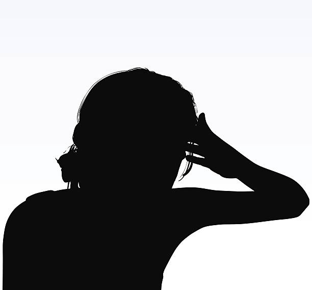Royalty Free Headache Woman Clip Art, Vector Images ...
