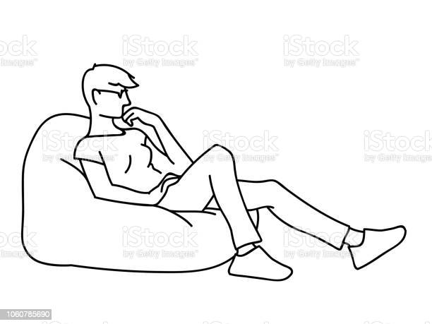 Woman sitting on big pillow sketch vector illustration of thoughtful vector id1060785690?b=1&k=6&m=1060785690&s=612x612&h=qwbwmqdld9m2xqc2iwb g1wlsiviaadsjat1m2spejo=