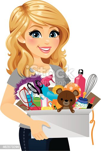 istock Woman Spring Cleaning 462573295