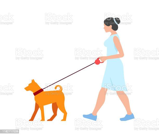 Woman walking the dog vector id1182717026?b=1&k=6&m=1182717026&s=612x612&h=3kmz6rlw3cbet1tybtlhunlrrbzrqidnp42wd lzmty=