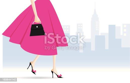 istock Woman Walking 165644142
