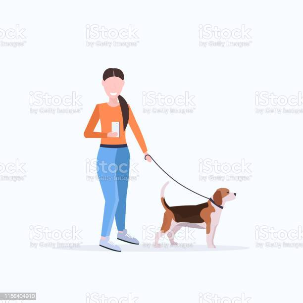 Woman walking with dog using smartphone social media network digital vector id1156404910?b=1&k=6&m=1156404910&s=612x612&h=kk3ffxr5aqgxdq4kucs8 eldwoxc  arzzby1ii87v4=