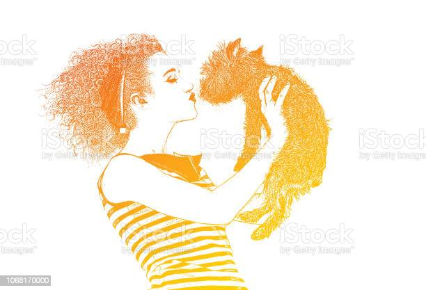Woman wearing vintage 1950s fashion kissing dog vector id1068170000?b=1&k=6&m=1068170000&s=612x612&h=0gde6maxg1pjkgx72bjqamfxmguvuwos iegdqrarnu=