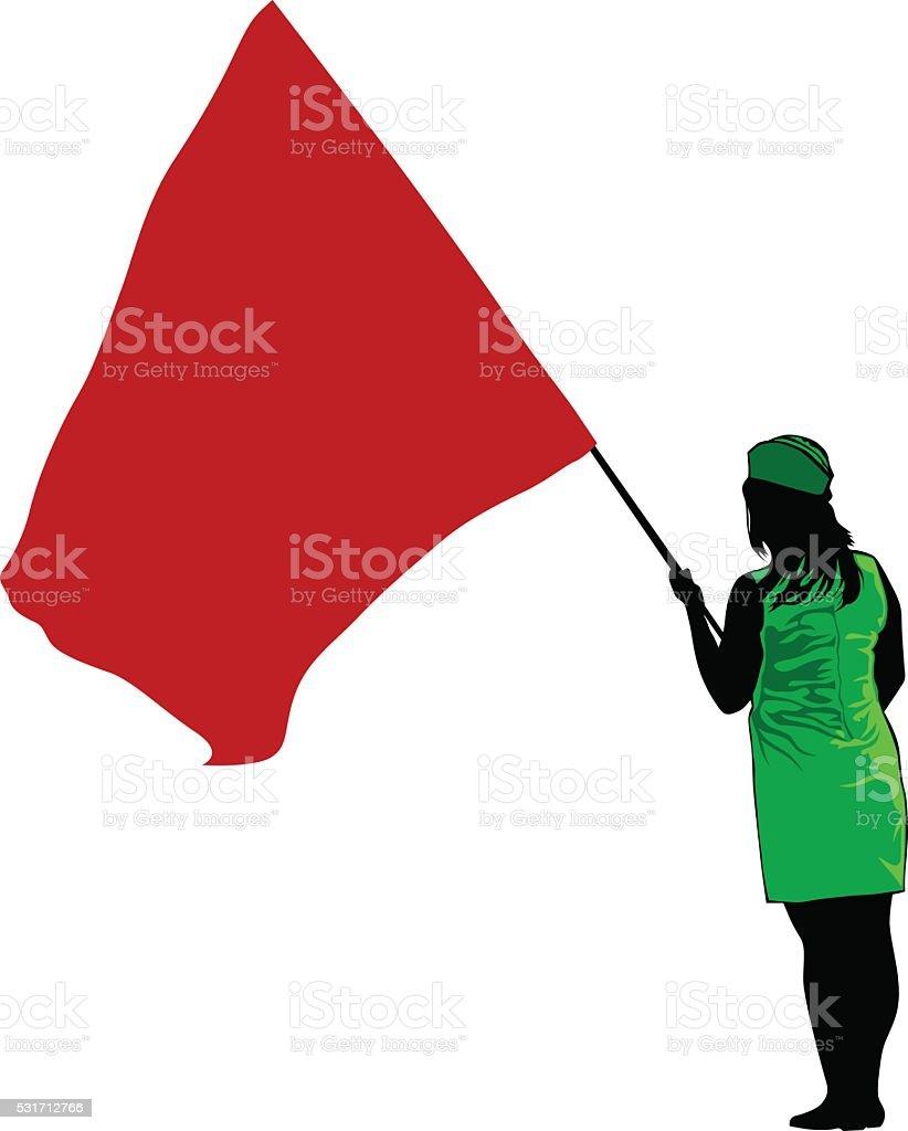 聖霊降臨祭 flage 女性 のイラスト素材 531712766 istock