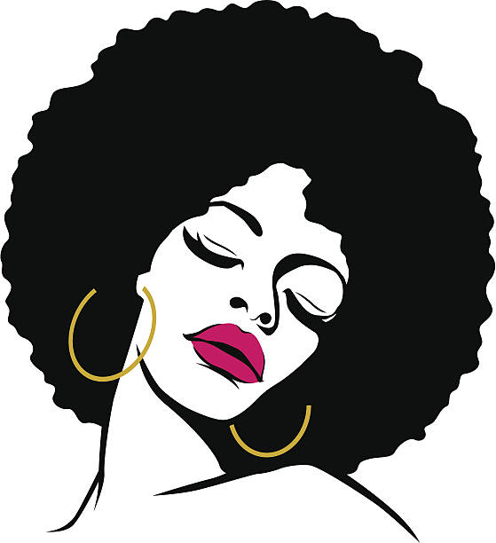 Afro Hair Vector Top 60 Afro Cli...