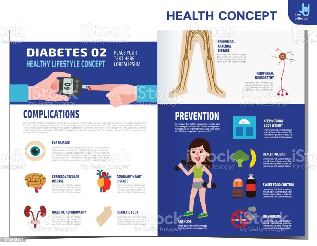 folleto de ideas de comidas para la diabetes