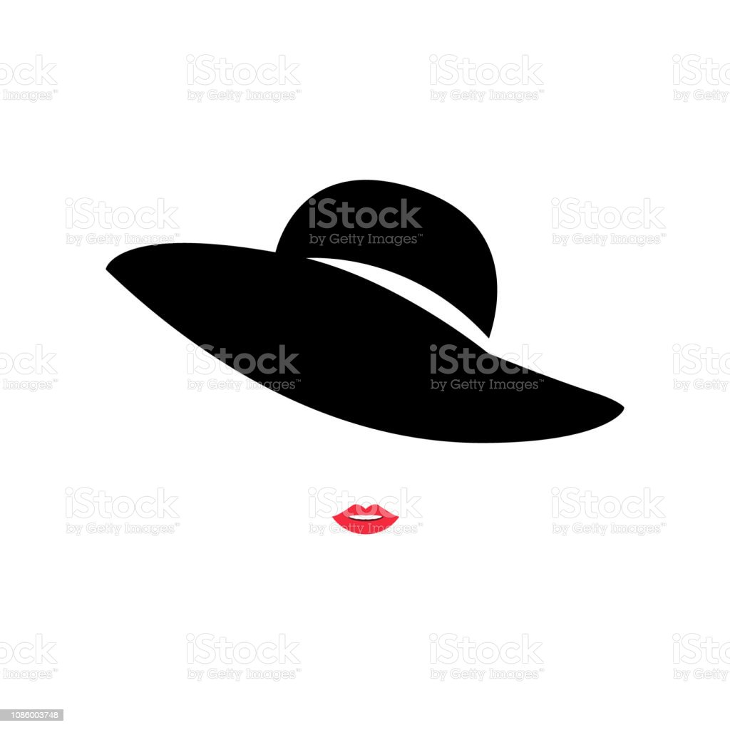 Fashion Lady White Hat Red Lips Hd Wallpaper Pixell Wallpapers