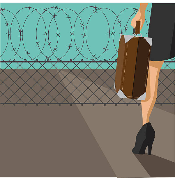 Royalty Free Border Crossing Clip Art, Vector Images & Illustrations ...