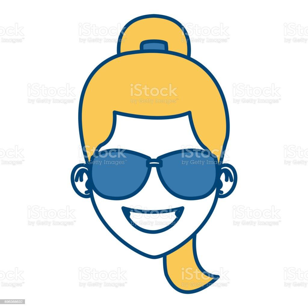 Sol Ilustración Animados Y Con Gafas Más De Mujer Dibujos 80vmwnnyo
