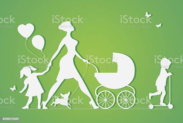 Woman with two children and dogs super mother vector id639925582?b=1&k=6&m=639925582&s=612x612&h=9 dunqium uhhsmncmjm3gf ivfjk4bftcuikb8brua=
