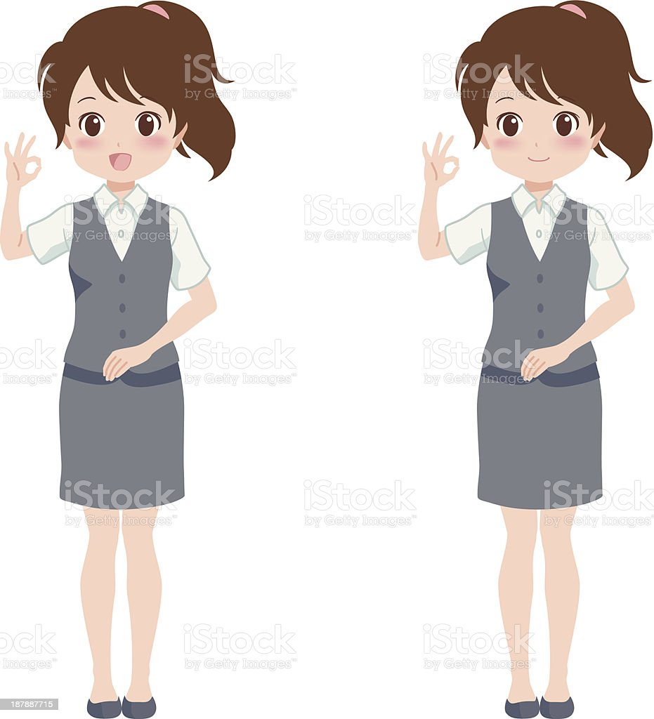 woman_good royalty-free womangood stock vector art & more images of adult