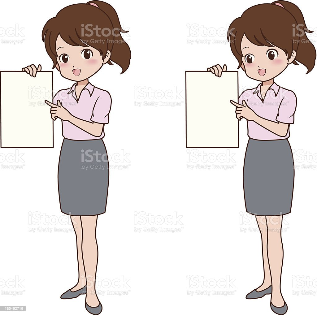 woman_guide royalty-free womanguide stock vector art & more images of adult