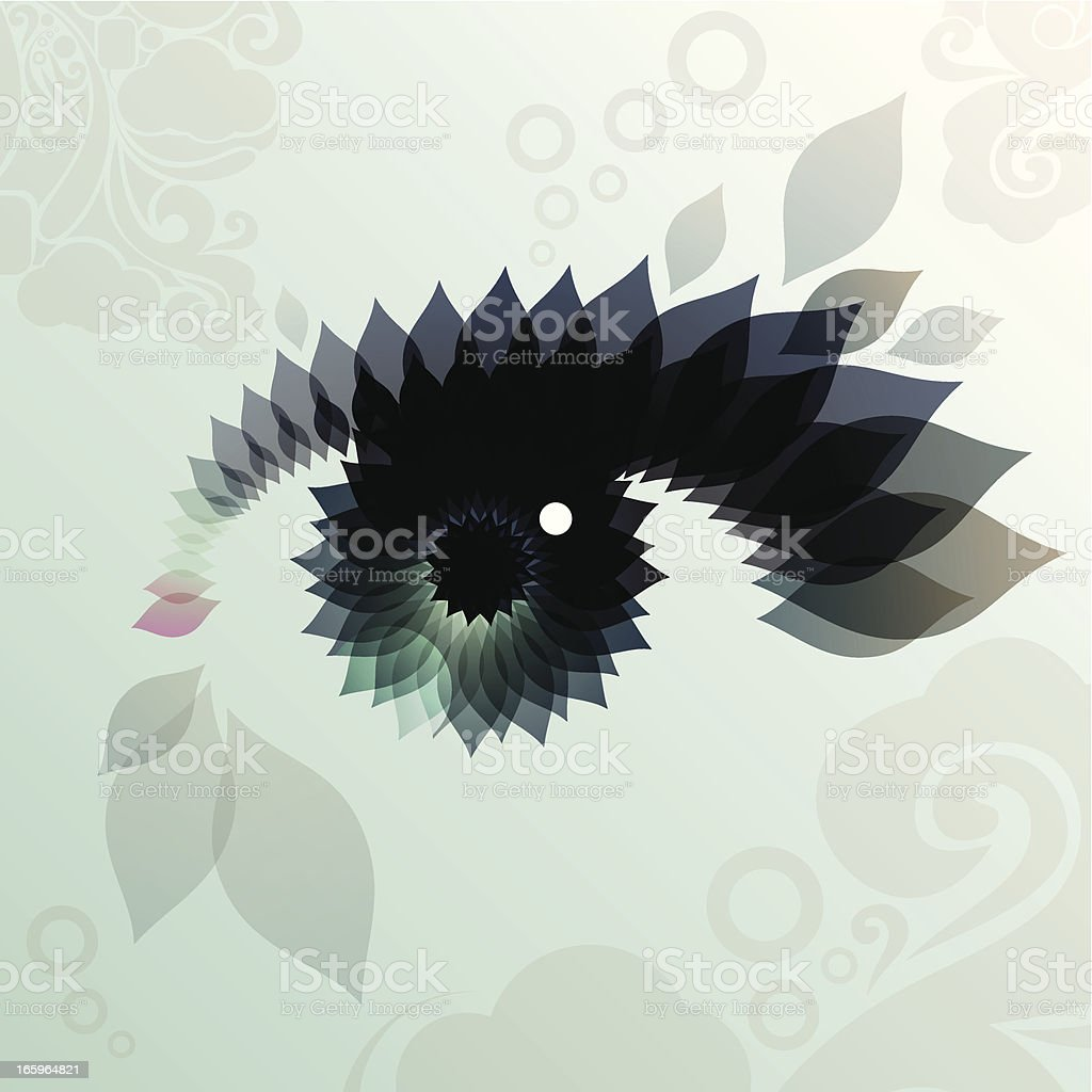 womans eye vector art illustration