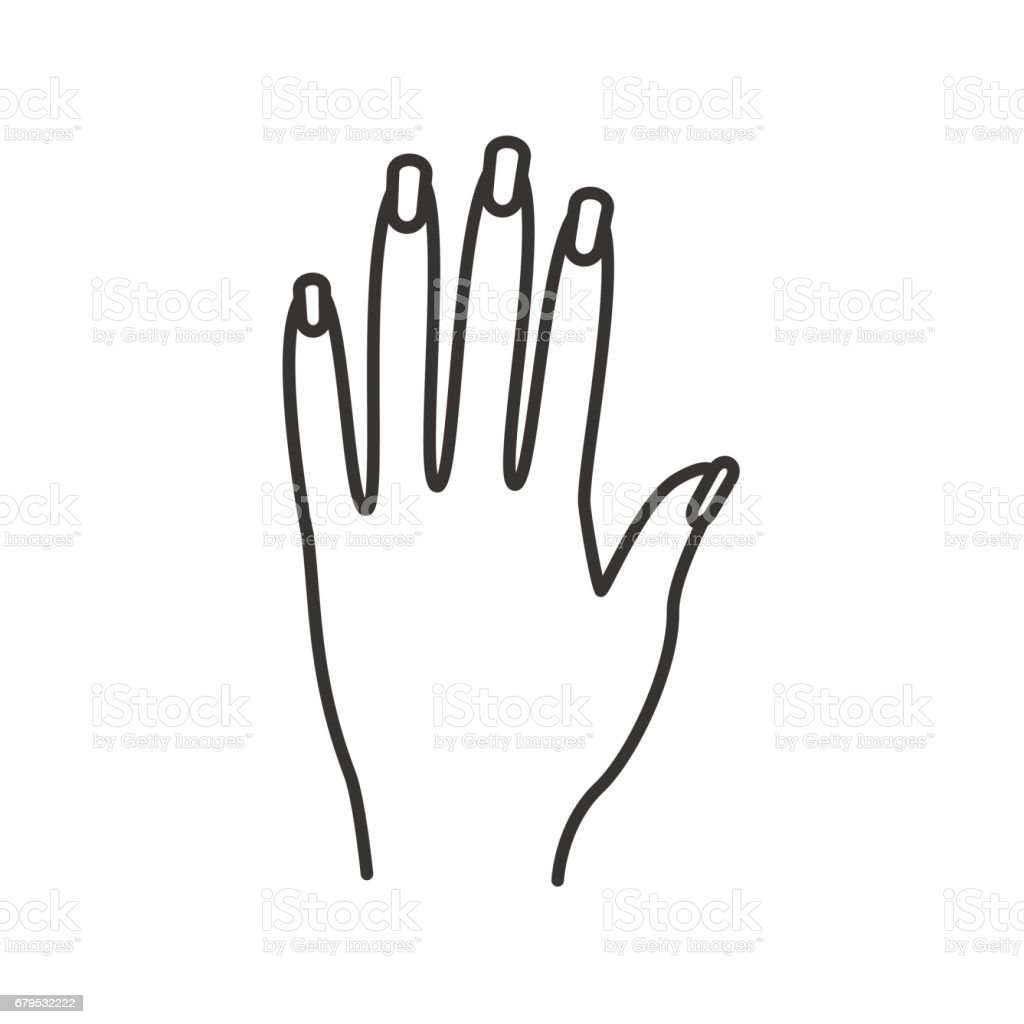 Woman's hand icon royalty-free womans hand icon stock vector art & more images of adult
