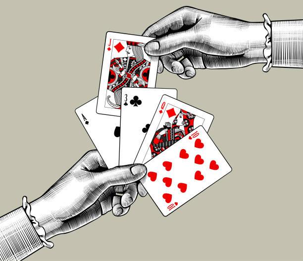 Poker Hand Free Vector Art 69 Free Downloads
