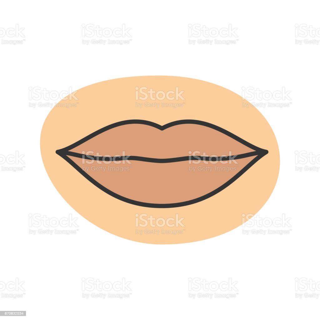 Womans Lips Icon Stock Vector Art & More Images of Anatomy 870832534 ...