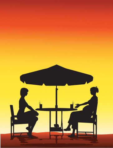 Women at Café
