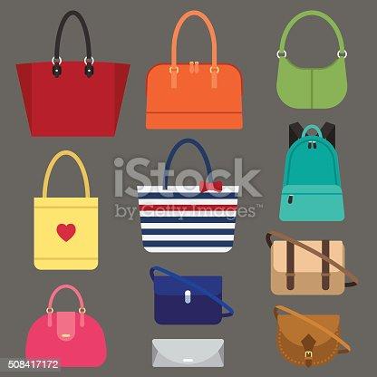 istock Women bags types 508417172