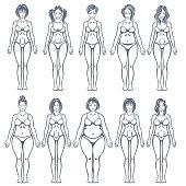 Women body types