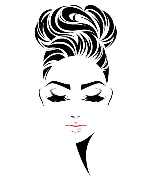 Best Black Hair Illustrations, Royalty-Free Vector
