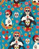 Women Dia Los Muertos