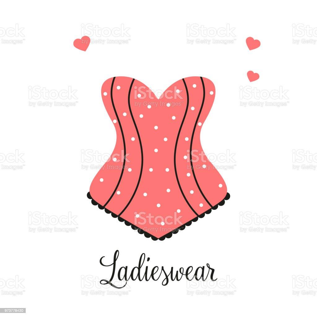 Vetores De Mulheres Moda Logotipo Desenho Modelo Lingerie Emblema
