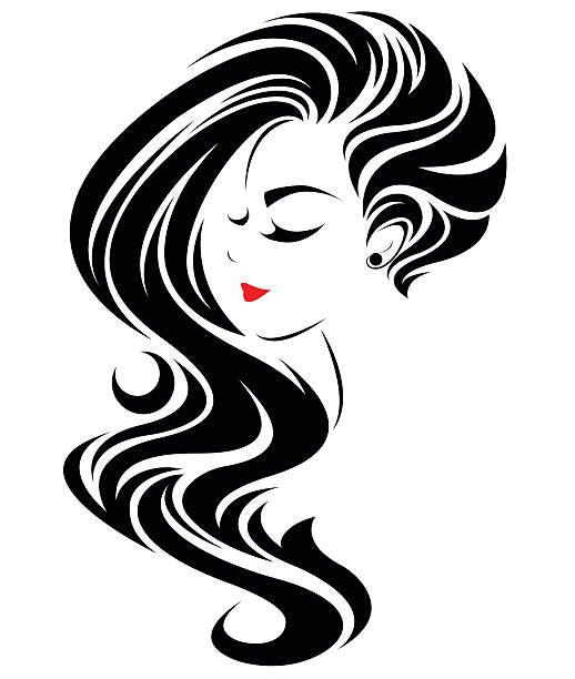 Wedding Hair Style Black Vector Art: Royalty Free Body Painting Clip Art, Vector Images