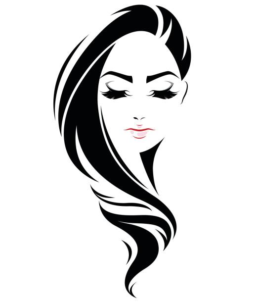 Best Black Hair Illustrations, Royalty-Free Vector ...