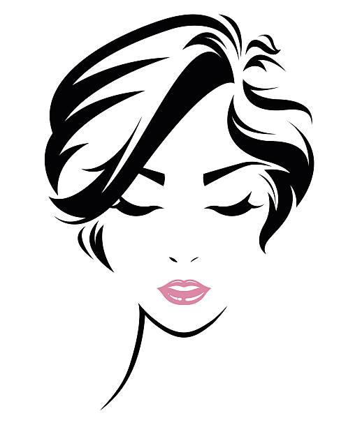 Best Short Hair Illustrations, Royalty-Free Vector