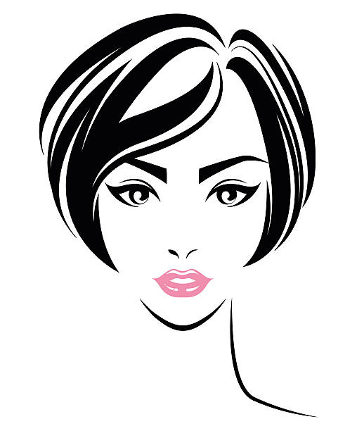 Best Short Hair Style Illustrations, Royalty-Free Vector