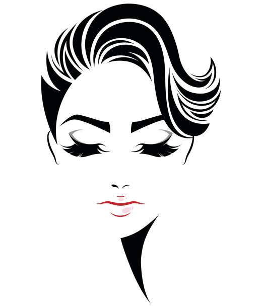 Royalty Free Short Hair Clip Art, Vector Images