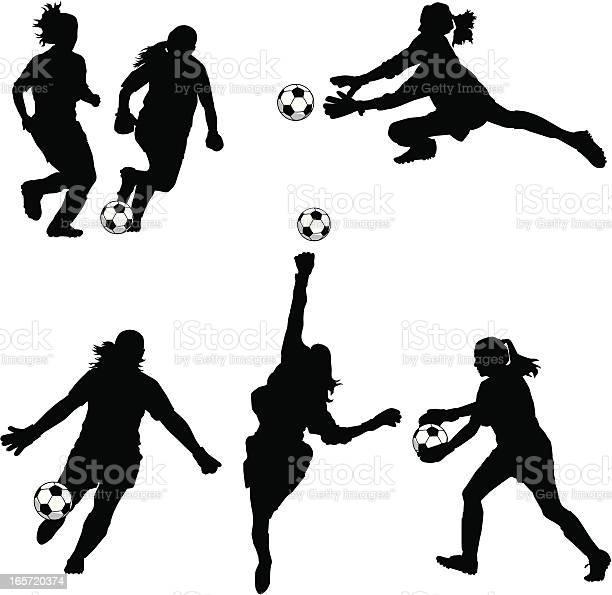 Women soccer goalie silhouettes vector id165720374?b=1&k=6&m=165720374&s=612x612&h=xo1c95bgtpljkyvugnuv ier4o b3i08pgf0zx3nrrs=