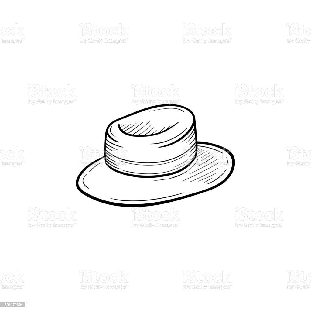 royalty free rain hat clip art vector images