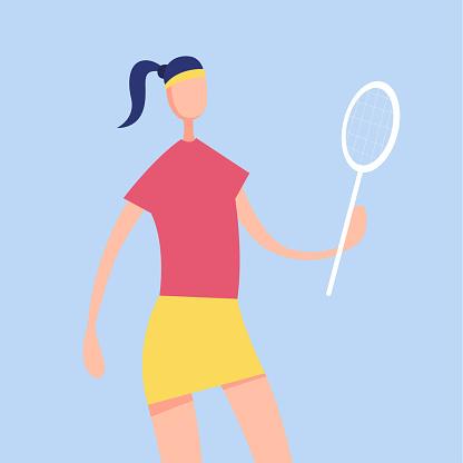 Women Tennis Player