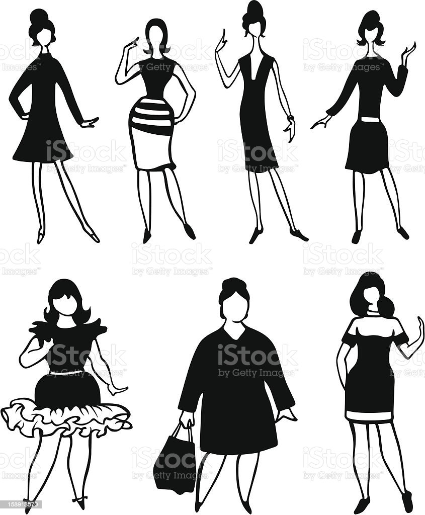 Women royalty-free women stock vector art & more images of adult