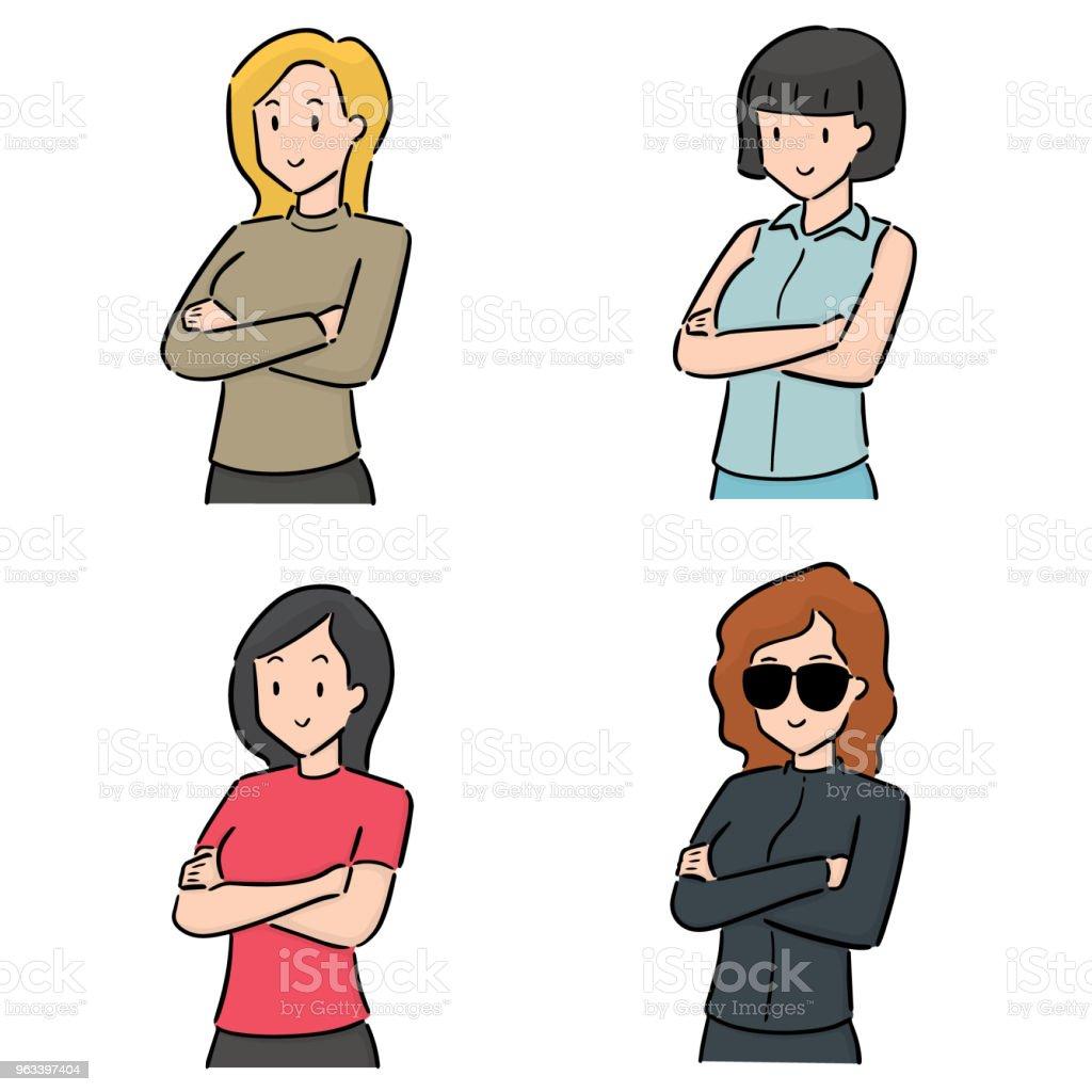 women - Grafika wektorowa royalty-free (Bazgroły - Rysunek)