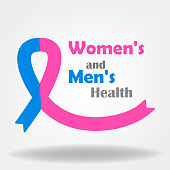 women's and men's health illustration