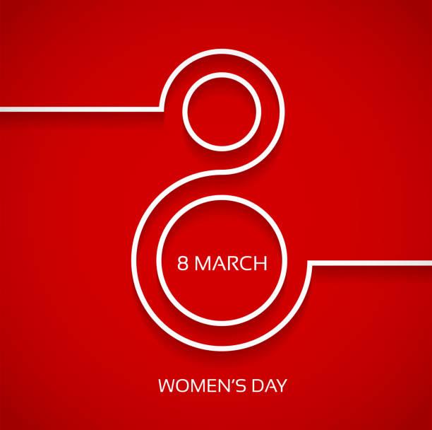 Damen day-design-Hintergrund – Vektorgrafik