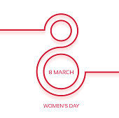 Abstract Women's day background with a space for your text. EPS 10 vector illustration, contains transparencies. High resolution jpeg file included(300dpi).