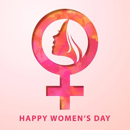 Women's Day Female Gender Symbol