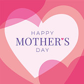 istock Women's Day greeting card with hearts. 1141975287