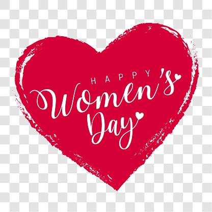 Women's Day Label