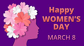 Womens Day origami