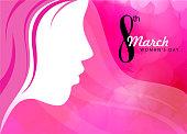 international women's day celebration background