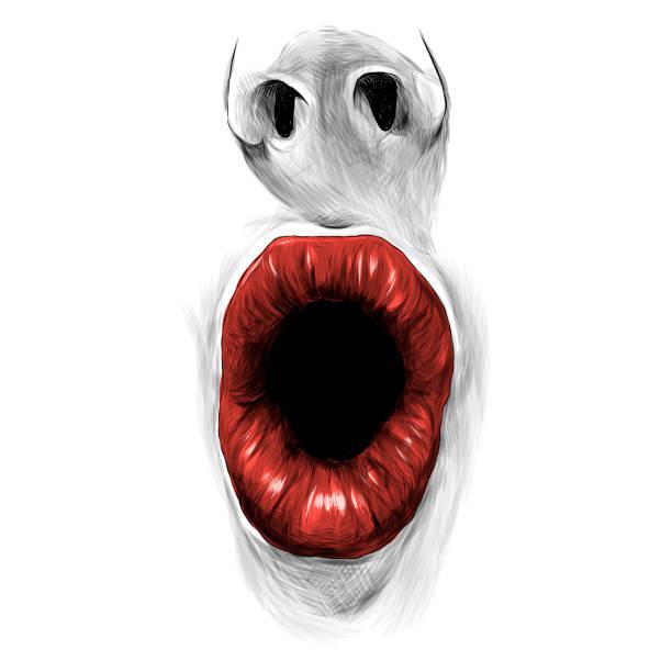 women's lips – artystyczna grafika wektorowa