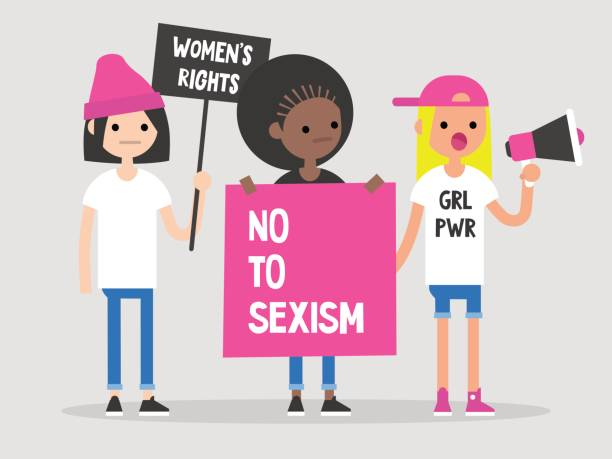 Royalty Free Gender Discrimination Clip Art, Vector Images ...