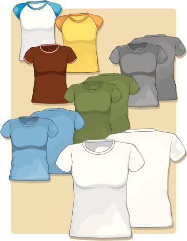 Womens Short Sleeve T-Shirts