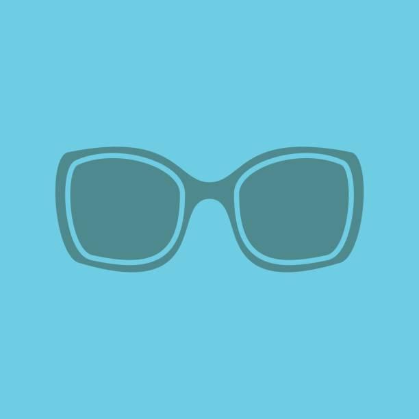 damen-sonnenbrillen-symbol - damenmode stock-grafiken, -clipart, -cartoons und -symbole